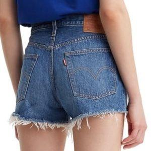 Levi's 501 Cutoff Shorts Size 25 Indigo Avenue